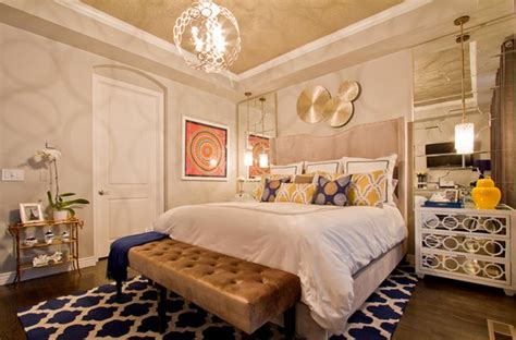 15 gorgeous blue and gold bedroom designs fit for royalty