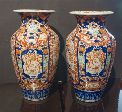 Vase Japanese by Pair Of Japanese Imari Vases At 1stdibs
