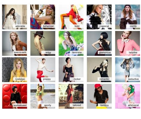 dofferent styles of the crunch haorstyle more styles style types pinterest wardrobes clothes
