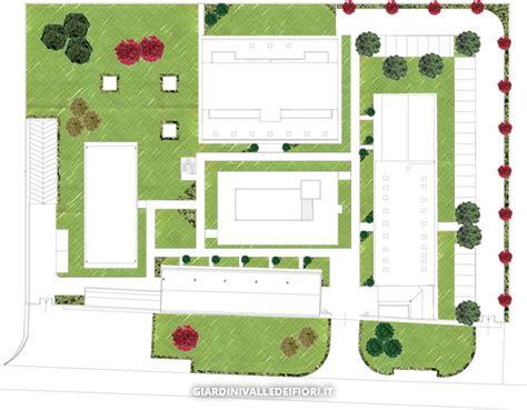 planimetria giardino progettazione giardini servizi aree verdi parchi pubblici