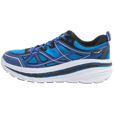 hoka running shoes review hoka one one stinson 3 road running shoes for save 50