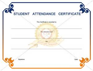 Student Certificate Template by Student Award Certificate Template For Best And