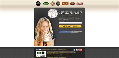 K Cup Sweepstakes - green mountain coffee perfect k cup sweepstakes