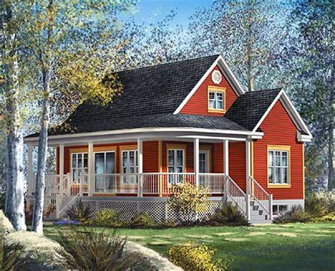 Country Cottage House Plans With Porches Cottage Design On Mini Kitchen Bedroom Sets