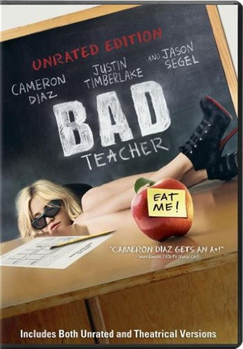 Bad Teacher 2011 Film Bad Teacher 2011 Dvd Hd Dvd Fullscreen Widescreen Blu Ray And Special Edition Box Set