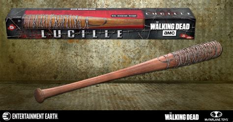 16 Barbed Wire Bat Lucile Negan Walking Dead Kitbash Po hit a home run with negan s bat replica