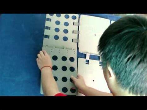 Six478 Magic Fast Clothes Shirts Folding Board Perapi Pelipat Pakaian magic fast speed folder clothes shirts folding board