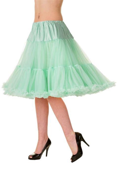 swing kleid mint banned 1950 s rockabilly swing petticoat r 252 schen tanzrock
