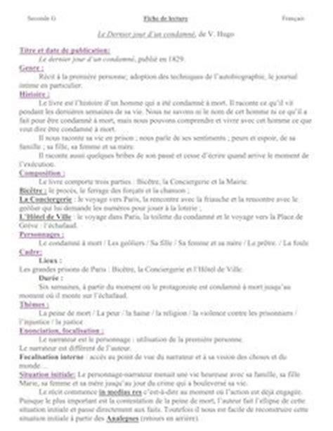 pdf libro e le dernier jour dun condamne edition illustree descargar cyrano de bergerac fiche de lecture mariongouley fiches de lecture