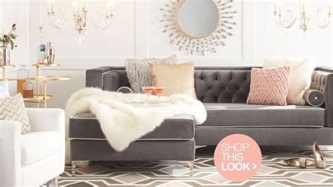 glam living room dazzling glam decorating ideas for your home overstock