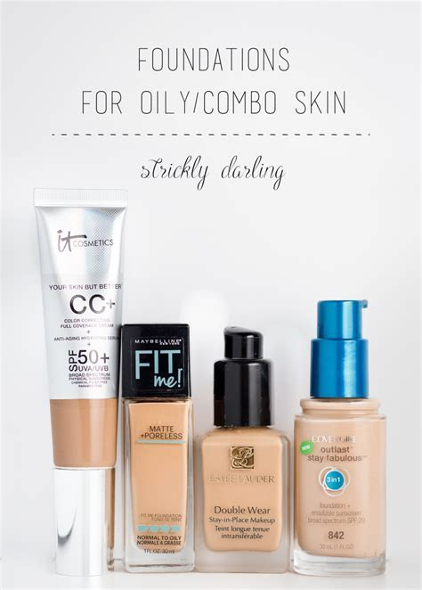 Foundations for Oily/Combination Skin   Suggest ipes