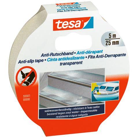 Anti Rutsch Aufkleber Obi by Tesa 174 55587 Anti Slip Transparent 25mm X 5m