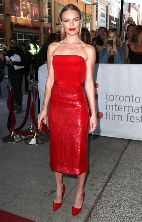 Yay Or Nay Kate Bosworth In Chanel Couture At The Premiere Of 21 by Alba La New York Intr O Rochie Roland Mouret