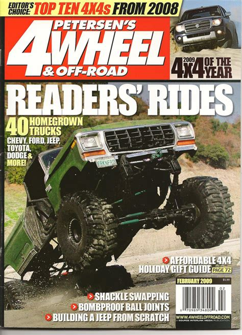 Free Jeep Magazines The Coupon Free 4 Wheel Road Magazine