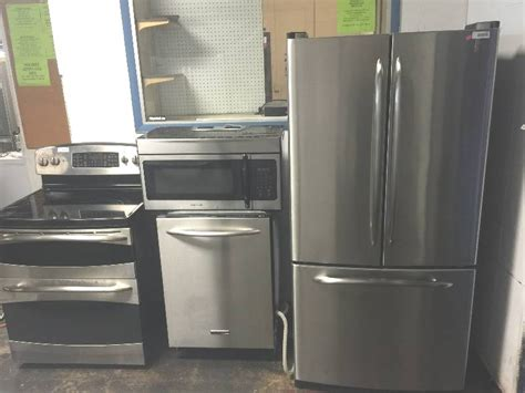 kitchen appliance suites stainless steel stainless steel 4 piece kitchen appliance suite south kc
