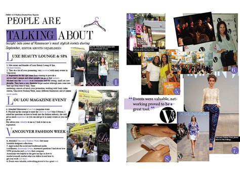 magazine layout event events report project magazine spread girl in betsey