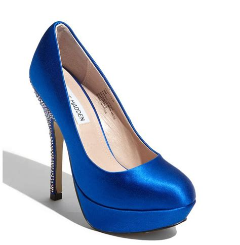 Blue Wedding Shoes by Wedding Shoes That Make A Statement Onewed