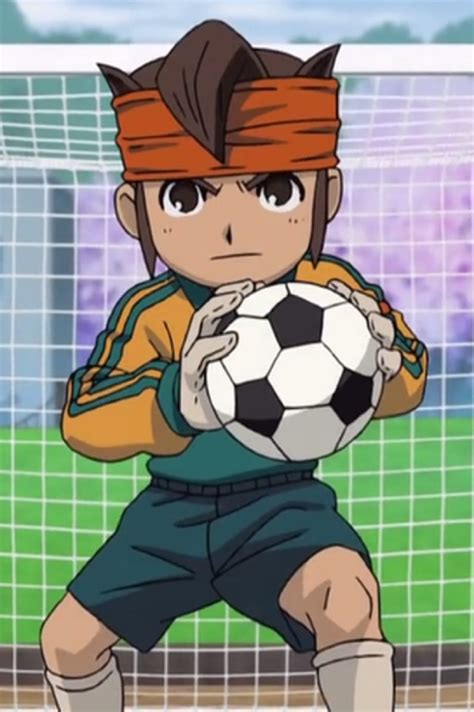 anime sepak bola romance foto endou mamoru
