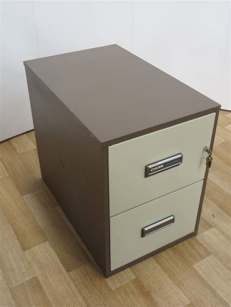 Used Office Storage Chubb 2 Drawer Fireproof Filing