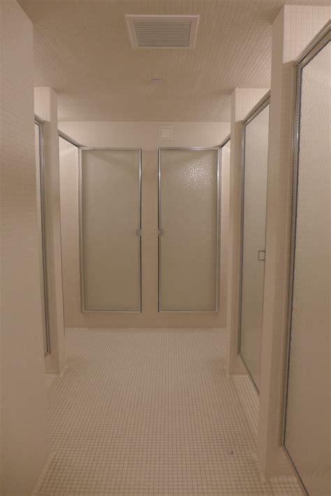 Lockerroom Showers by Tribeca Citizen A Look Inside The New Asphalt