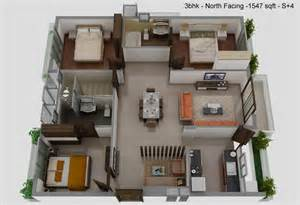 3bhk House Design Plans by Welcome To The Village