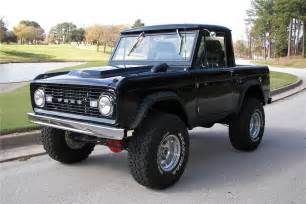 1967 ford bronco custom 81405