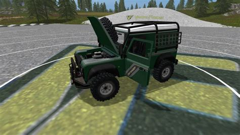 mod land rover defender land rover defender 90 v 1 0 0 0 for fs17 farming
