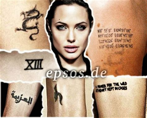 angelina jolie tattoo znaczenie angelina jolie tattoos meaning ideias tattoo pinterest