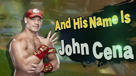 John Cena Meme - and his name is john cena super smash bros john cena
