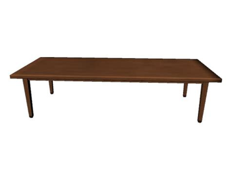 Table D by 3d Simple Table Model