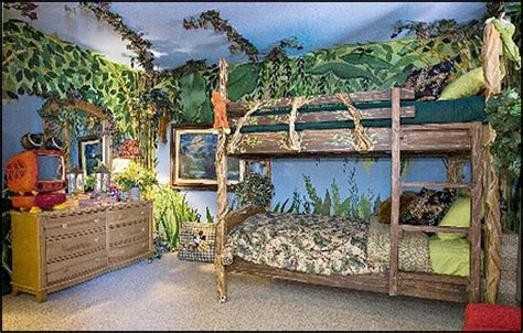 rainforest bedroom decorating theme bedrooms maries manor boat bed