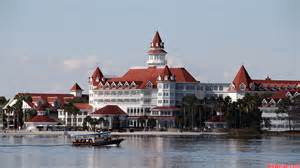 Disney transportation boat sailing by the grand floridian resort