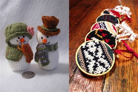 knitted christmas decorations 21 knitted decorations ideas feed inspiration