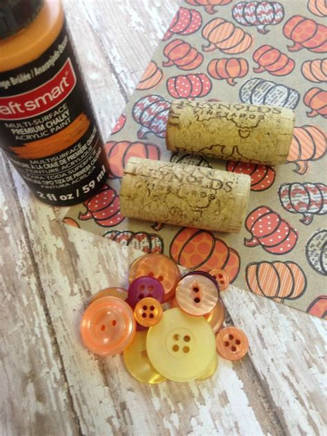 how to make cork place card holders frugal fall wine cork place card holder