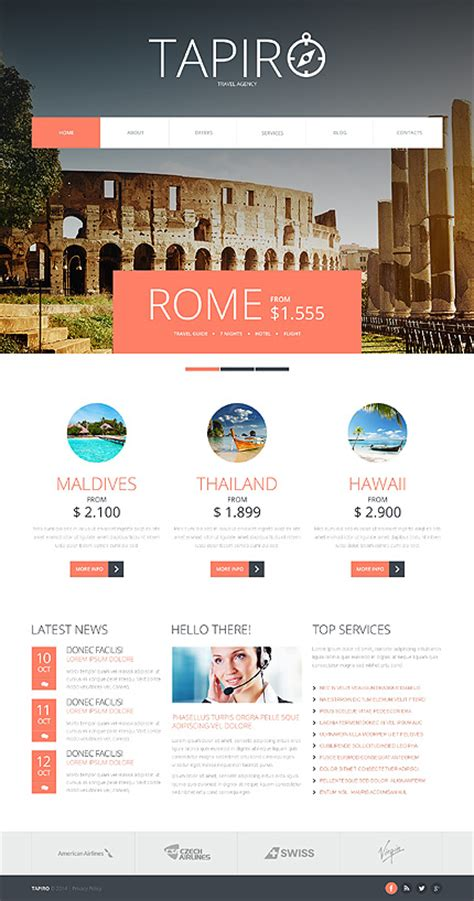 template joomla responsive blog best website templates october 2014 entheos