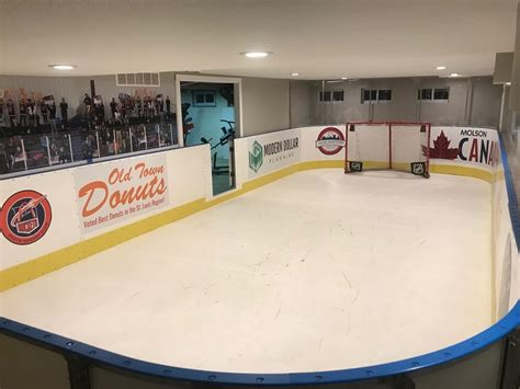 how to make an ice rink in your backyard garage basement ice rinks indoor ice rinks d1