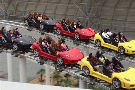 Ferrari Land In Dubai ferrari world skidubai