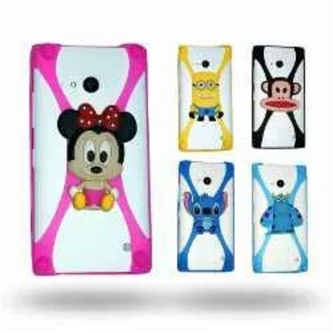 Silikon Disney Universal 6 8in 7 In bumpers 3d para celulares universal de silicon animados