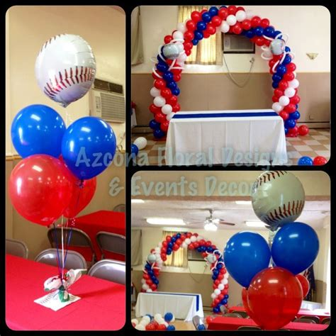 Sports Themed Balloon Decor by 120 Best Baseball Carnival Images On