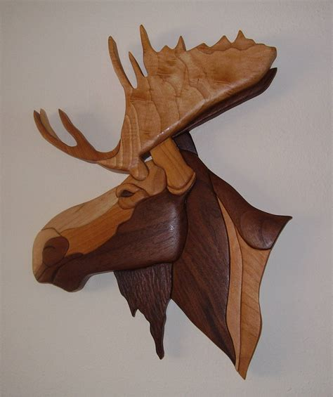 what is intarsia woodworking moose sale price 105