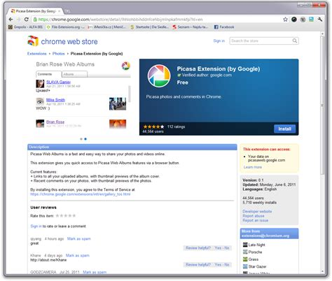 google images extension installing chrome extensions