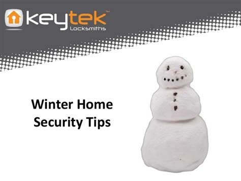 winter home security tips