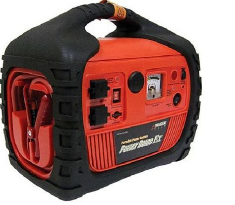 power generator compact jump starter cable portable air compressor 400w electric ebay