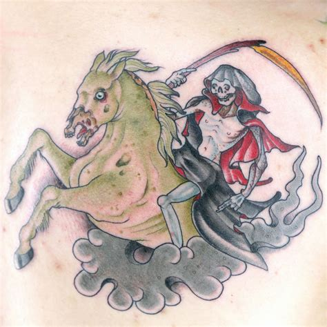elimination tattoo 4 on 1 four horsemen of the apocalypse
