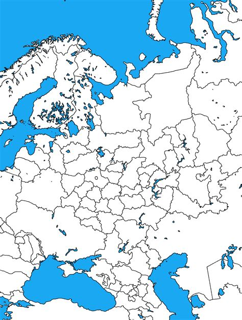 map of europe showing russia blank map europe russia maps of usa