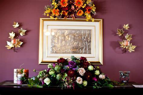 Real Fall Wedding Inspiration Marianna S Vineyard Wedding Fall Themed Centerpieces