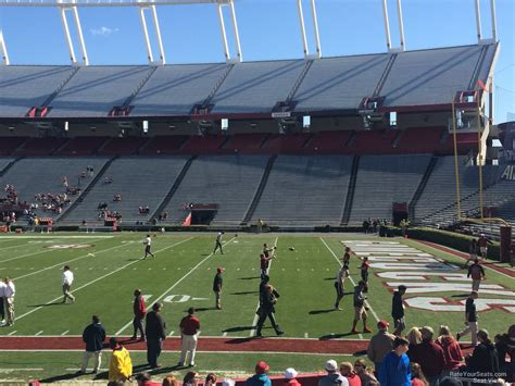 section 8 and 15 williams brice stadium section 8 rateyourseats com