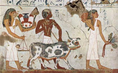 imagenes pinturas egipcias pintura egipcia