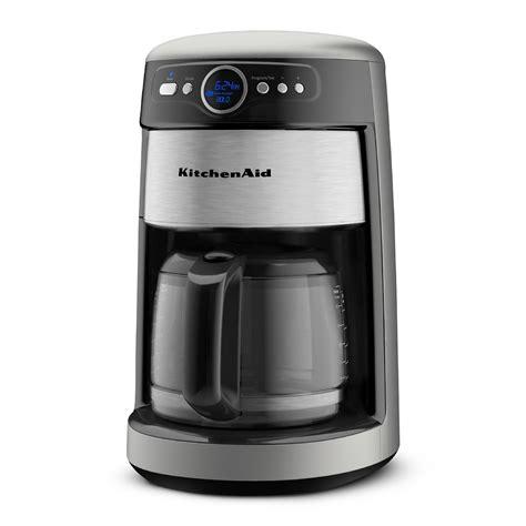 kitchen aid coffee pot kitchenaid 14 cup glass carafe coffee maker appliances small kitchen appliances coffee