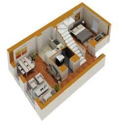 Small Floor Plans Tiny House Floor Plans Small Residential Unit 3d Floor
